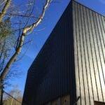 Færdigbygget facade